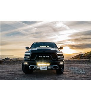 "RAM Rebel 1500 2019- Baja Designs 20"" OnX6+ Bumper Mount Kit - 448017 - Lighting - Baja Designs OnX6 - Verstralershop"