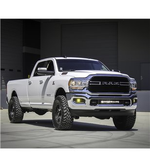 "RAM 2500/3500 2019- Baja Designs 20"" OnX6+ Bumper Mount Kit - 448031 - Verlichting - Baja Designs OnX6 - Verstralershop"