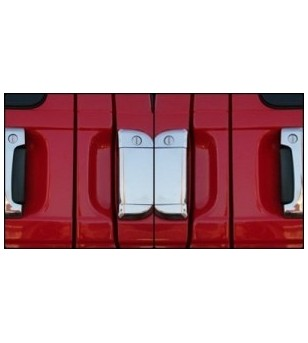VW Transporter T4 -2003 REAR DOOR HANDLE - TWIN DOOR (set) rvs - 3506290011 - RVS / Chrome accessoires - Unspecified
