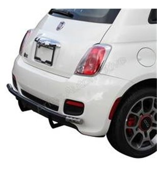 Fiat 500 stainless rearbar SALE! - 305555 - Rearbar / Rearstep - Unspecified - Verstralershop