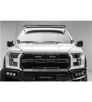 Ford Raptor 2017+ Grille LED Kit, Incl. (2) 6 Inch LED - Z415651-KIT - Other accessories - Zroadz Led Grilles - Verstralershop