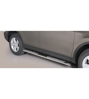 Toyota Rav4 2013- Design Side Protection Oval - DSP/345/IX - Sidebar / Sidestep - Unspecified