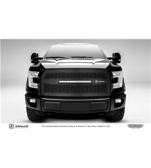 "Ford F150 2015-2017 ZROADZ Grille incl 20"" Led (F150 w. cam) - Z315741 - Grille - Zroadz Led Grilles - Verstralershop"