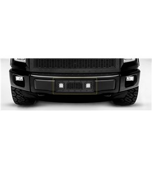 "Ford F150 2015-2017 Stealth Laser Torch Bumper Grille incl 2x 3"" Led - 7325731-BR - Grille - T-Rex Laser Torch LED Grilles - Ver"