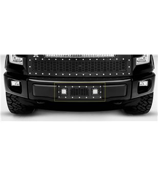 "Ford F150 2015-2017 Stealth Laser Torch Bumper Grille Chrome Studs incl 2x 3"" Led - 7325731 - Grille - Verstralershop"