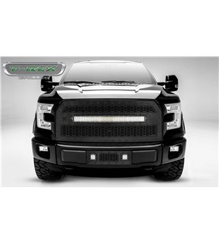 "Ford F150 2015-2017 Stealth Laser Torch Grille incl 30"" Led (F150 w cam)"