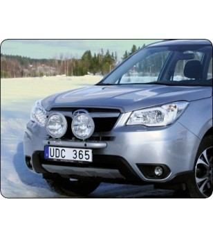 Subaru Forester 2013- Q-Light/2 lightbar - Q900240 - Bullbar / Lightbar / Bumperbar - QPAX Q-Light - Verstralershop