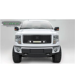 Ford F150 2009-2012 Stealth Laser Torch Grille incl Led