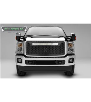"Ford Super Duty 2011-2016 Stealth Laser Torch Grille incl 30"" Led"
