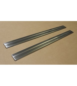 Nissan Juke 2010+ DOOR SILL COVER STEEL (set - 4) stainless - 2403120294 - Stainless / Chrome accessories - Verstralershop