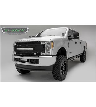 "Ford Super Duty 2017- Torch AL Grille Black incl 30"" Led - 6315481 - Grille - T-Rex Torch-Al LED Grilles - Verstralershop"