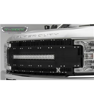 "Ford Super Duty 2017- Torch AL Grille Black incl 30"" Led"
