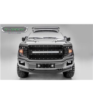 "Ford F150 2018- Stealth Laser Torch Grille Chrome Studs incl 30"" Led - 7315711 - Grille - Verstralershop"