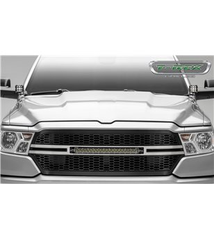 "RAM 1500 2019- Stealth Laser Torch Grille incl 20"" Led"