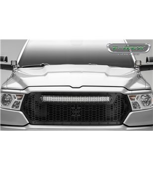 "RAM 1500 2019- Stealth Laser Torch Grille incl 30"" Led"