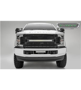 "Ford Super Duty 2017- Stealth Laser Torch Grille incl 30"" Led (SD w cam)"