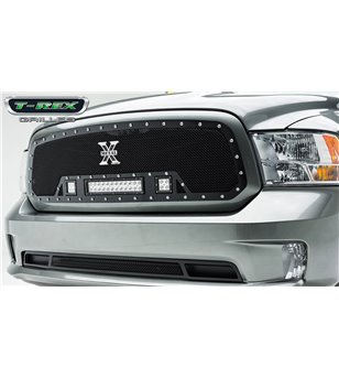 RAM 1500 2013-2018 Torch Grille Chrome Studs incl Led - 6314581 - Grille - Verstralershop