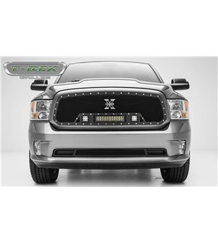 RAM 1500 2013-2018 Torch Grille Chrome Studs incl Led