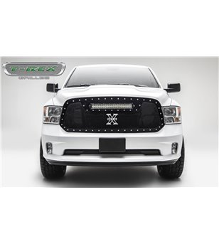 "RAM 1500 2013-2018 Torch Grille Chrome Studs incl 20"" Led - 6314541 - Grille - Verstralershop"