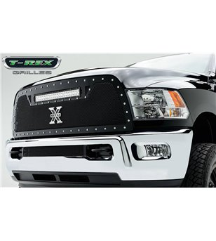"RAM 2500 3500 2010-2012 Torch Grille Chrome Studs incl 20"" Led - 6314531 - Grille - Verstralershop"