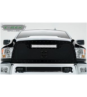 "RAM 2500 3500 2010-2012 Torch Grille incl 20"" Led"