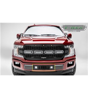 "Ford F150 2018- Revolver Bumper Grille incl 2x 3"" Led (Limited, Lariat)"