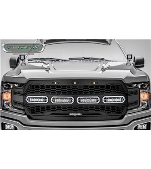 "Ford F150 2018- Revolver Grille Chrome Studs incl 4x 6"" Led"