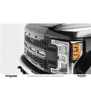 """Ford Super Duty 2017- Revolver Grille Chrome Studs incl 4x 6"""" Led"""