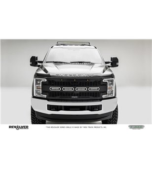 "Ford Super Duty 2017- Revolver Grille Chrome Studs incl 4x 6"" Led (SD w cam)"