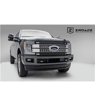 "Ford Super Duty 2017- Grille LED High Kit - incl 2x 10"" led"
