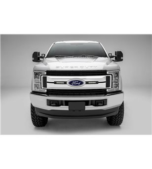 "Ford Super Duty 2017- Grille LED Kit Black - incl 2x 6"" led (XLT)"