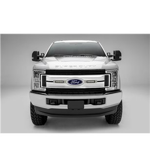 "Ford Super Duty 2017- Grille LED Kit Brushed - incl 2x 6"" led (XLT)"