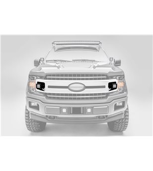 "Ford F150 2018- Grille LED Kit - incl 2x 3"" led (XLT, Sport, Super Crew)"