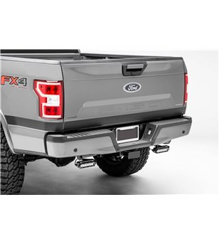 "Ford F150 2015+ Rear Bumper LED Kit incl 2x 6"" Led - Z385662-KIT - Other accessories - Zroadz Led Grilles - Verstralershop"