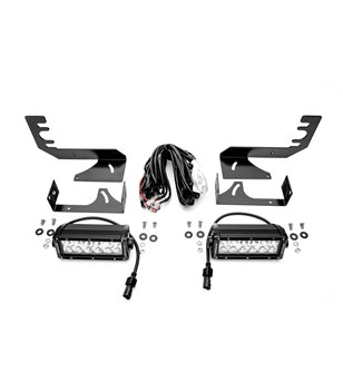 "RAM 1500 2019- Rear Bumper LED Kit incl 2x 6"" Led"