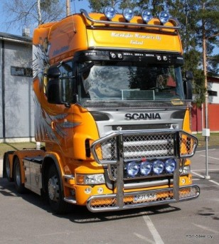 Scania R - serie Frontbar Freeway V2.0