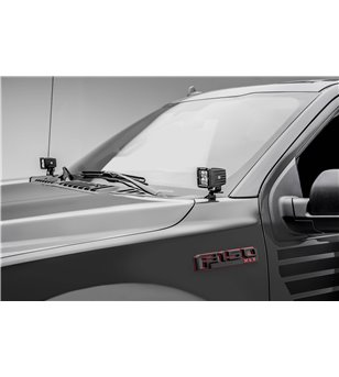 "Ford F150 2018- Hood LED Kit incl 2x 3"" Led - Z365711-KIT2 - Other accessories - Verstralershop"