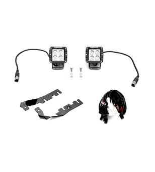 "RAM 1500 2019- Hood LED Kit incl 2x 3"" Led"