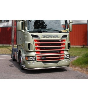 Scania R - serie Bumper Bar high bumper - 100416 - Bullbar / Lightbar / Bumperbar - Unspecified