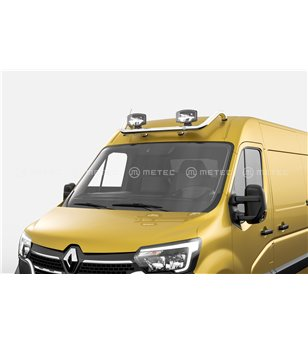 RENAULT MASTER 19+ roofbar, with cable and 2 clamps - 888495 - Roofbar / Roofrails - Verstralershop