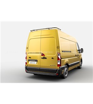 RENAULT MASTER 19- Roofbar rear, integrated leds - 828006 - Roofbar / Roofrails - Verstralershop