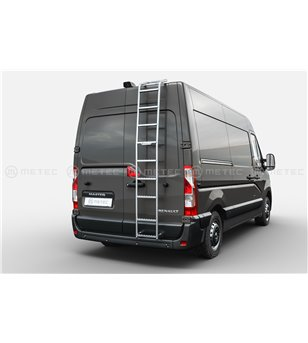 RENAULT MASTER 19+ ML-II Rear Ladder H2 - 828015 - Roofrack - Verstralershop