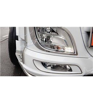 DAF XF 106 Fog lamp Contourset - 3F009DXF - Stainless / Chrome accessories - Verstralershop