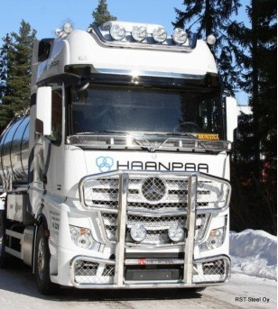 MB ACTROS 2011 - Frontbar Freeway GigaSpace - 1097 - Bullbar / Lightbar / Bumperbar - RST-STeel - frontbar Freeway