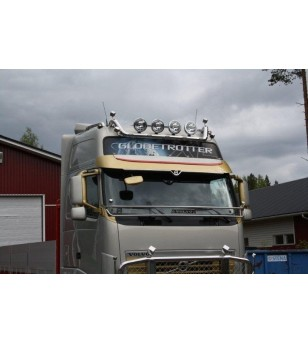Volvo FH Roofbar V1.0 Globetrotter XL - 100441 - Roofbar / Roofrails - Unspecified