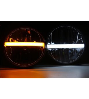 AngryMoose Black LED koplamp DRL - set