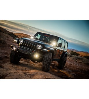 Jeep Wrangler JL/JT Rubicon 2018+ Baja Designs - Fog Pocket Kit Pro - 447069 - Lighting - Verstralershop