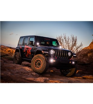 Jeep Wrangler JL/JT 2018+ Baja Designs A-Pillar Mount Kit - 447001 - Other accessories - Verstralershop