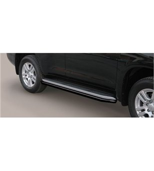 Landcruiser 18- 5DR Sidebar Protection Black