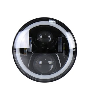 AngryMoose Black LED Angel Eyes headlight - set